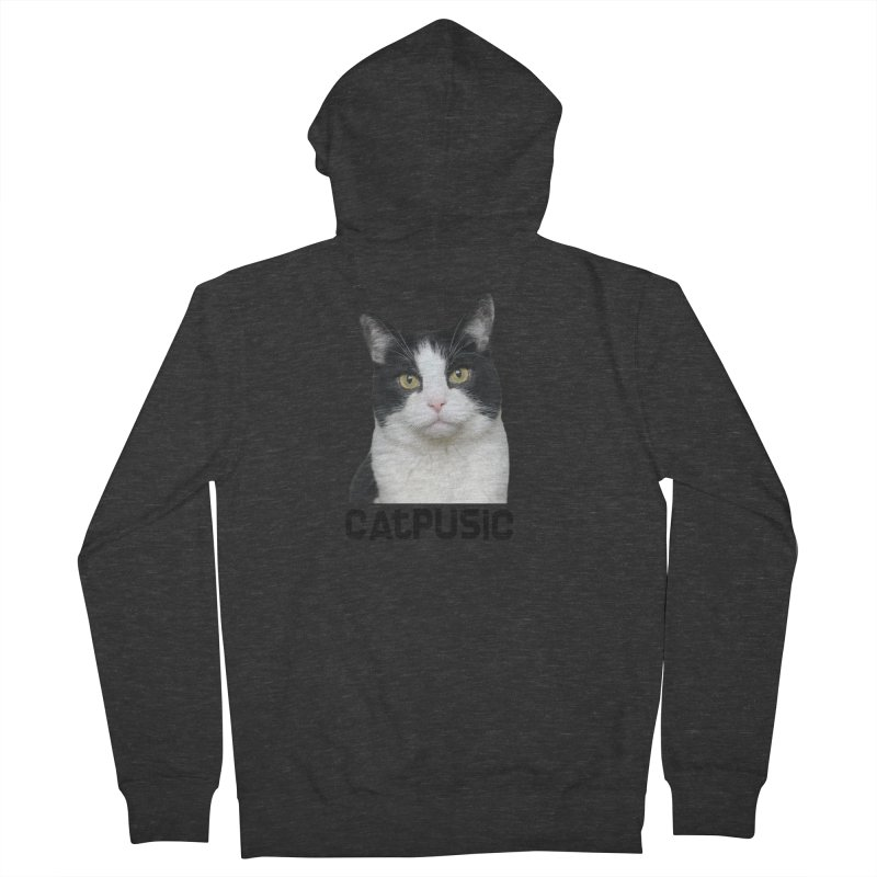 CatPusic Women's French Terry Zip-Up Hoody by SHOP CatPusic