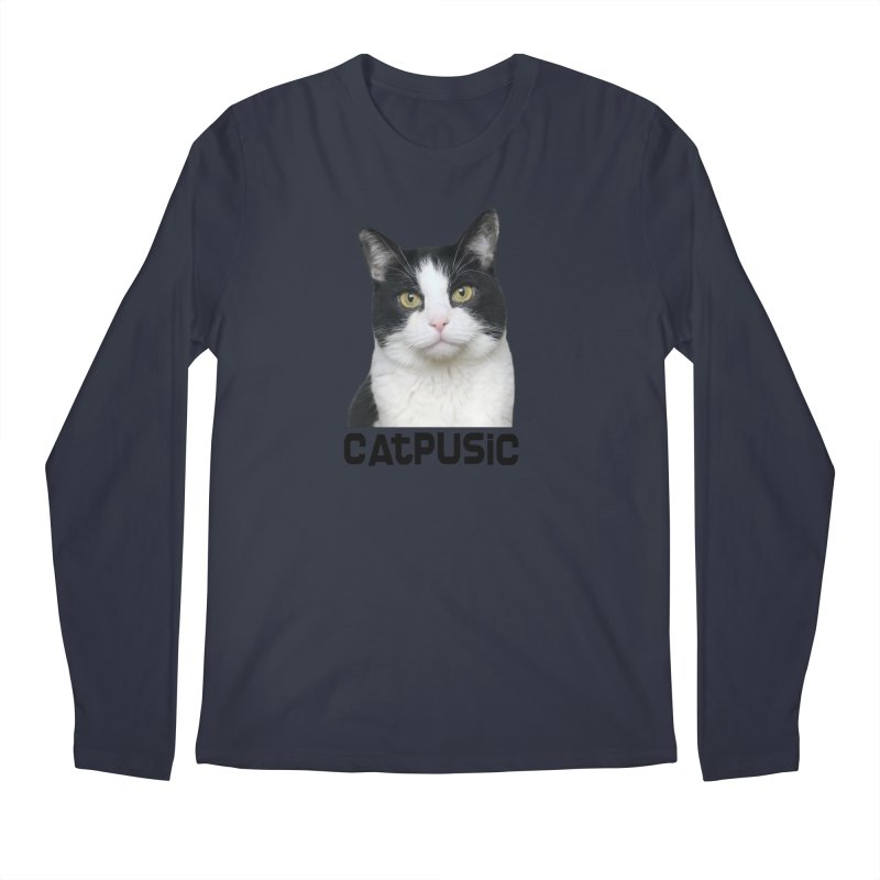 CatPusic Men's Longsleeve T-Shirt by SHOP CatPusic