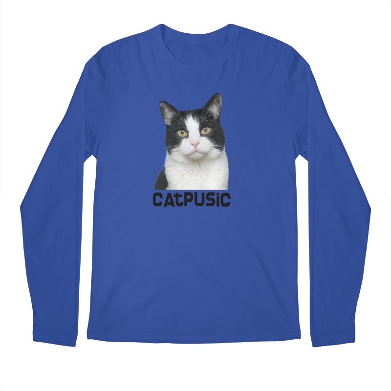 CatPusic Men's Longsleeve T-Shirt by SHOP CatPusic