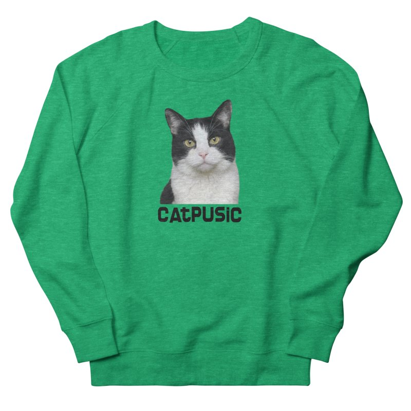 CatPusic Women's French Terry Sweatshirt by SHOP CatPusic
