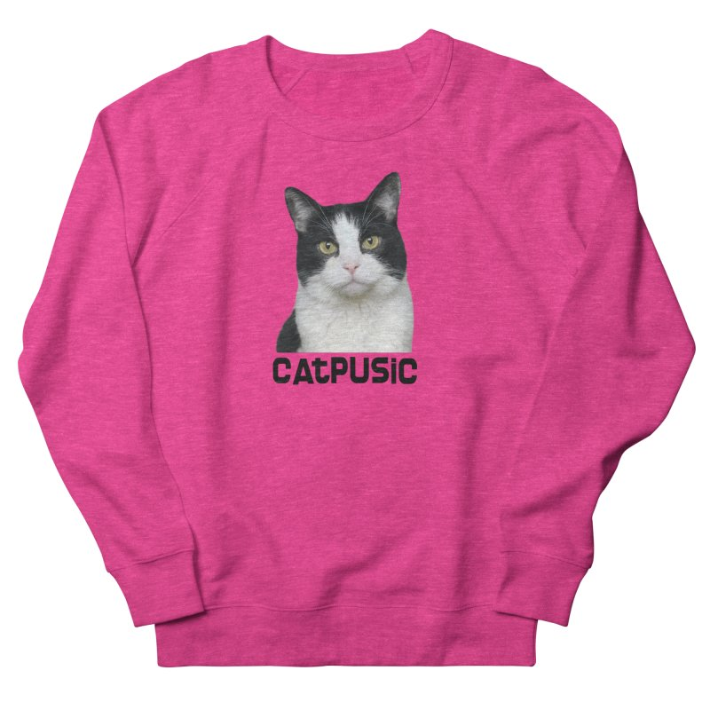 CatPusic Men's French Terry Sweatshirt by SHOP CatPusic