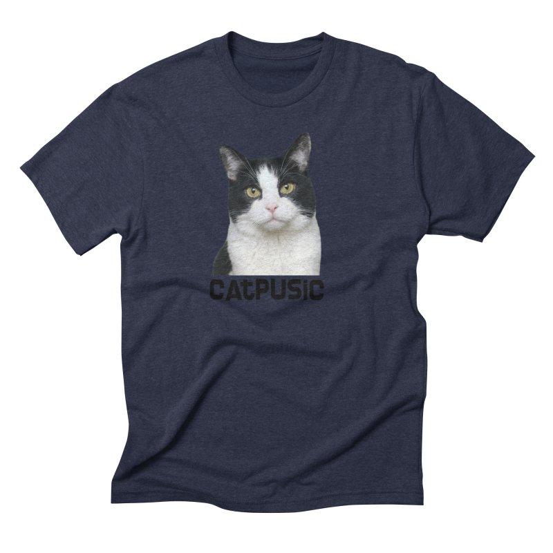 CatPusic Men's Triblend T-Shirt by SHOP CatPusic