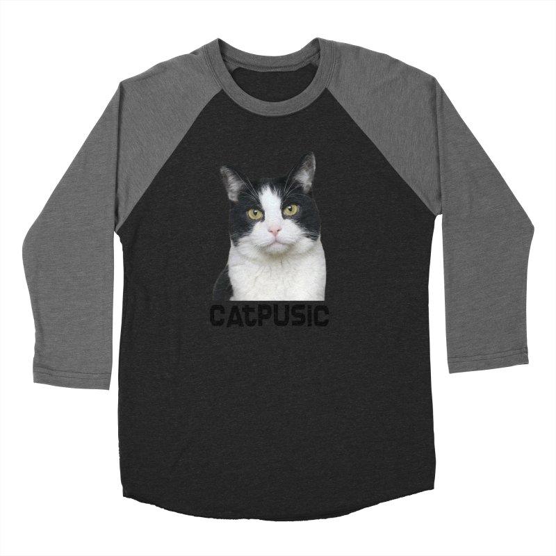 CatPusic Women's Baseball Triblend Longsleeve T-Shirt by SHOP CatPusic