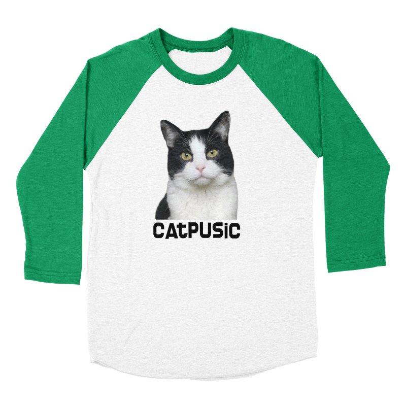 CatPusic Men's Baseball Triblend T-Shirt by SHOP CatPusic