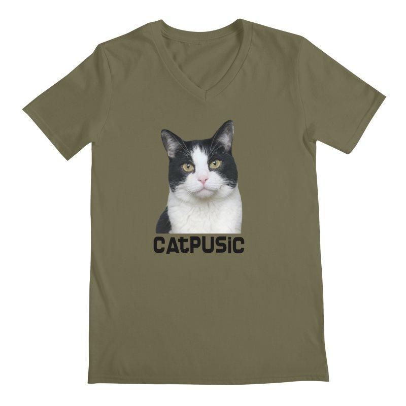 CatPusic Men's V-Neck by SHOP CatPusic