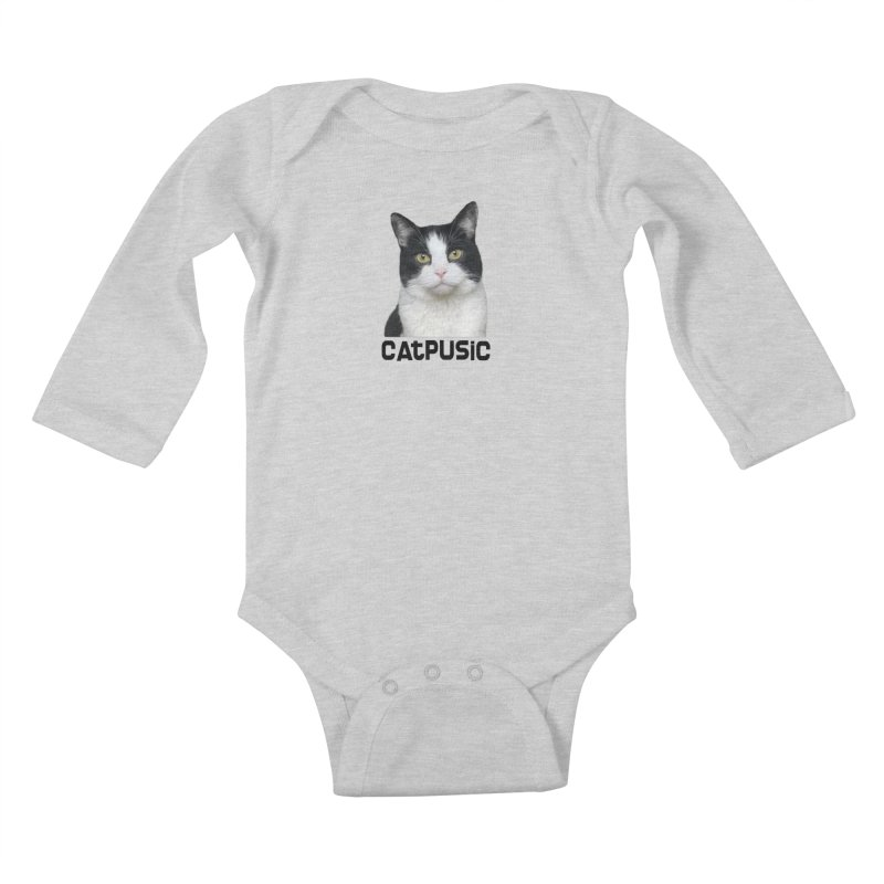 CatPusic Kids Baby Longsleeve Bodysuit by SHOP CatPusic