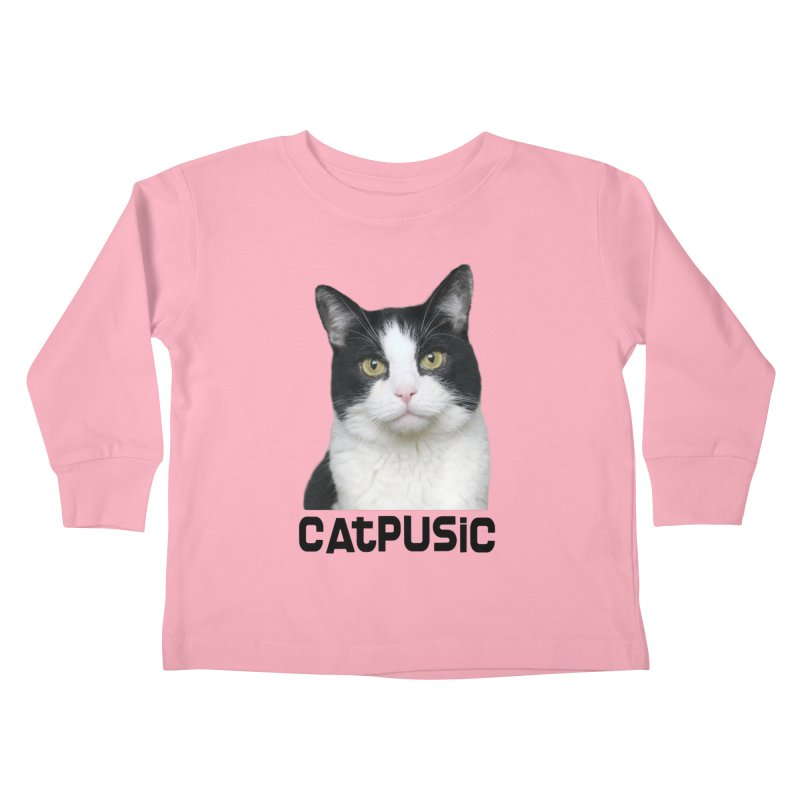 CatPusic Kids Toddler Longsleeve T-Shirt by SHOP CatPusic