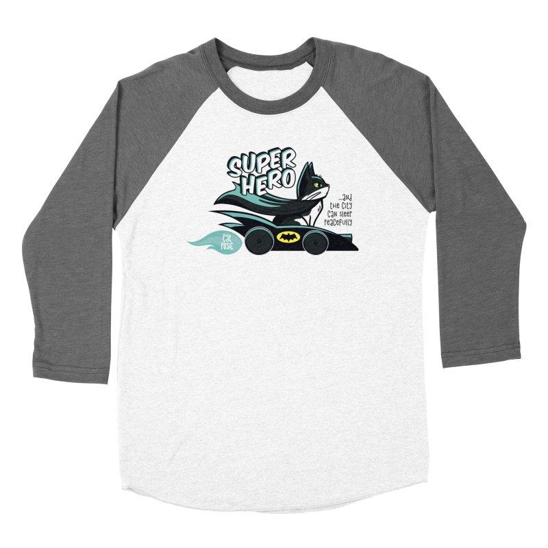 Super Hero Women's Longsleeve T-Shirt by SHOP CatPusic