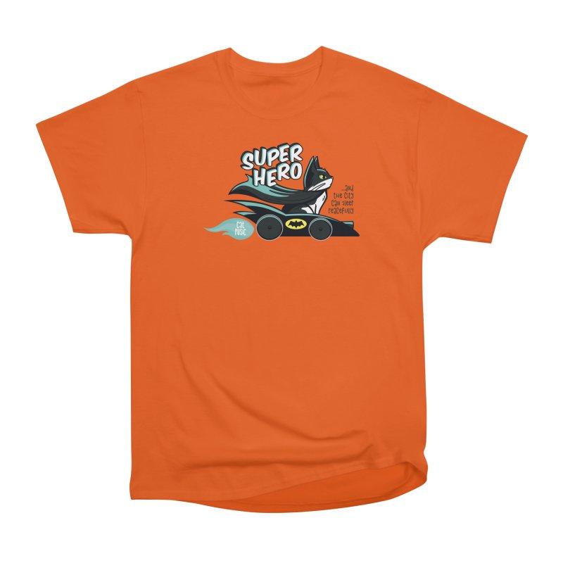 Super Hero Women's Heavyweight Unisex T-Shirt by SHOP CatPusic