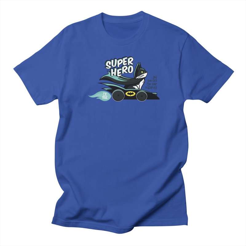 Super Hero Men's T-Shirt by SHOP CatPusic