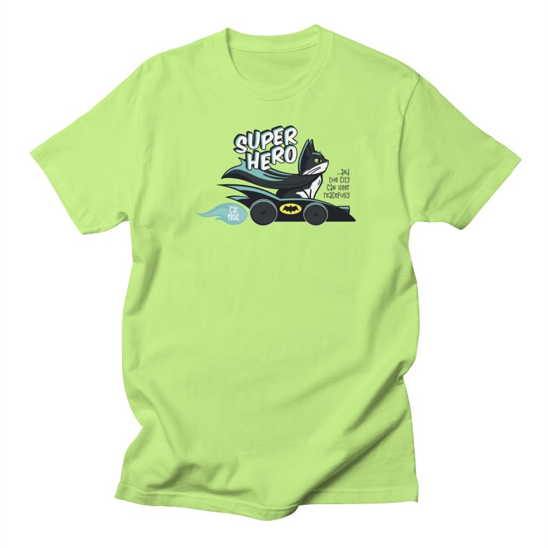 Super Hero Women's Regular Unisex T-Shirt by SHOP CatPusic