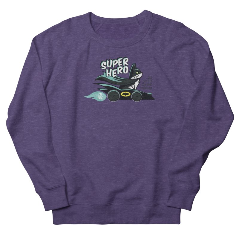 Super Hero Men's Sweatshirt by SHOP CatPusic