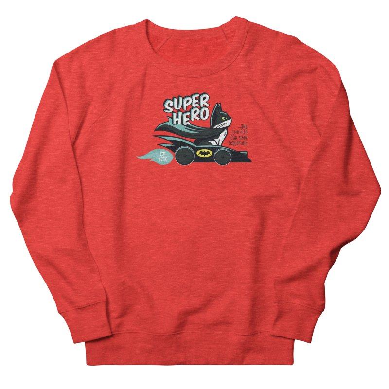 Super Hero Men's Sweatshirt by SHOP CatPusic