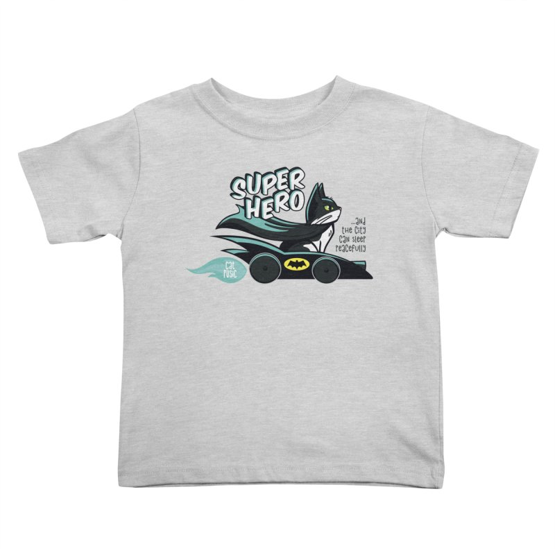 Super Hero Kids Toddler T-Shirt by SHOP CatPusic