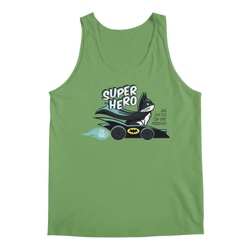Super Hero Men's Tank by SHOP CatPusic