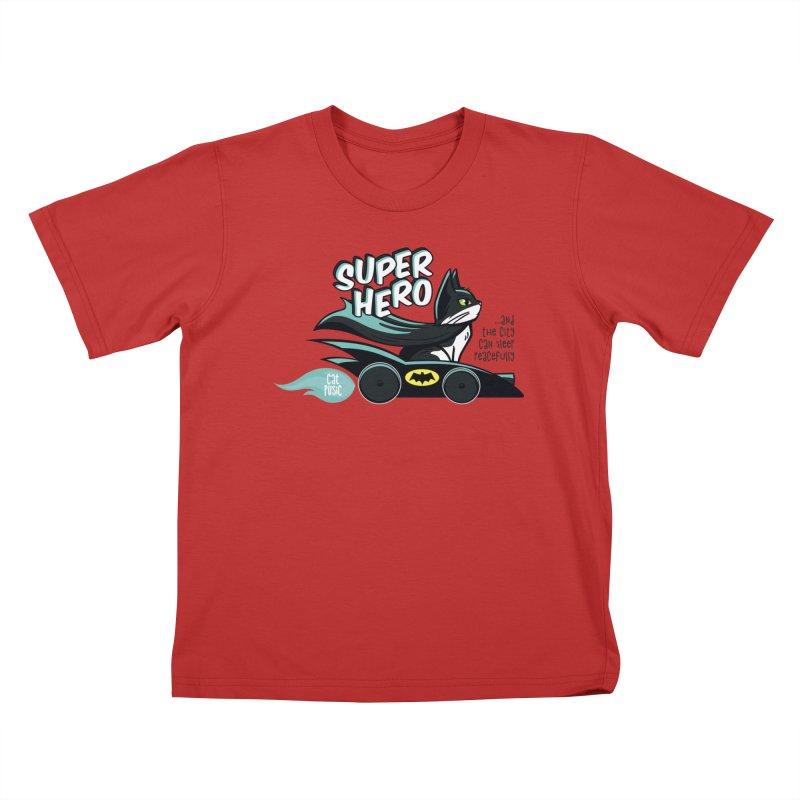 Super Hero Kids T-Shirt by SHOP CatPusic