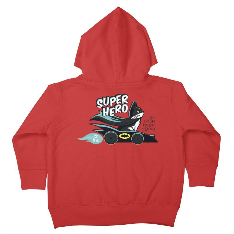 Super Hero Kids Toddler Zip-Up Hoody by SHOP CatPusic