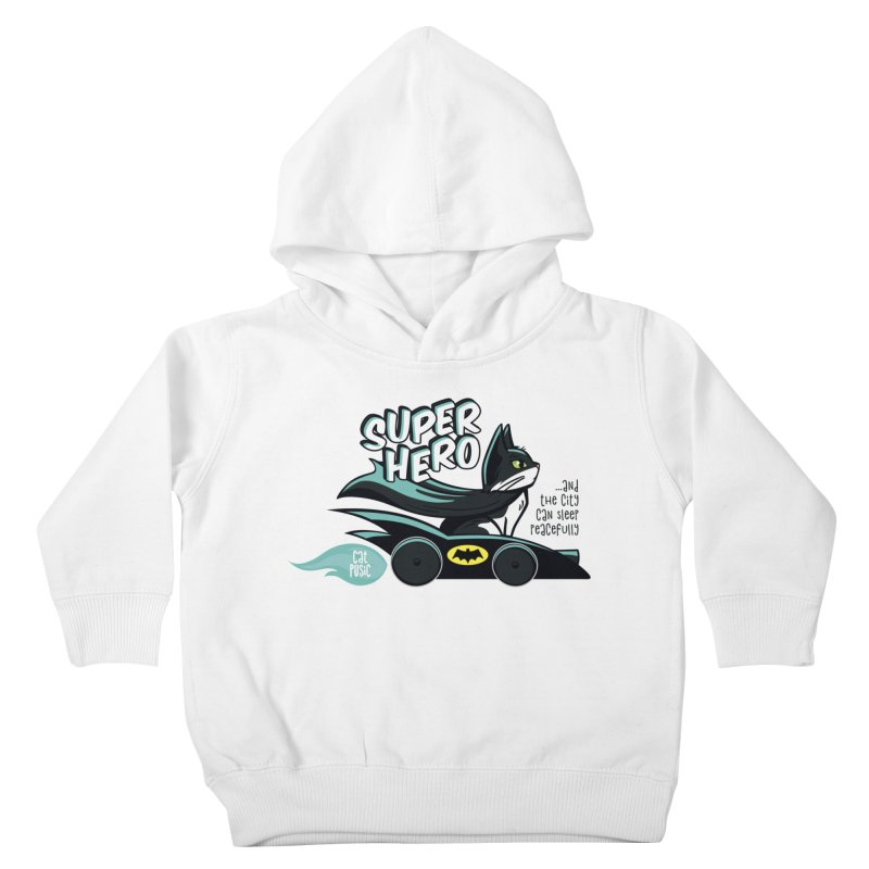 Super Hero Kids Toddler Pullover Hoody by SHOP CatPusic