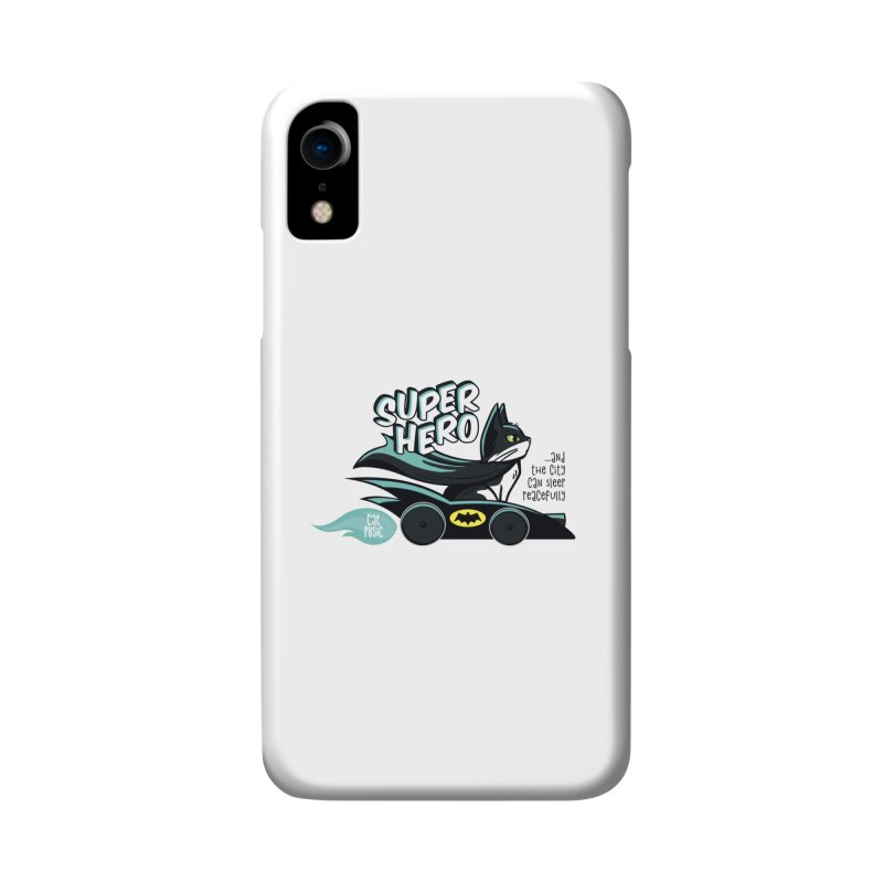 Super Hero Accessories Phone Case by SHOP CatPusic