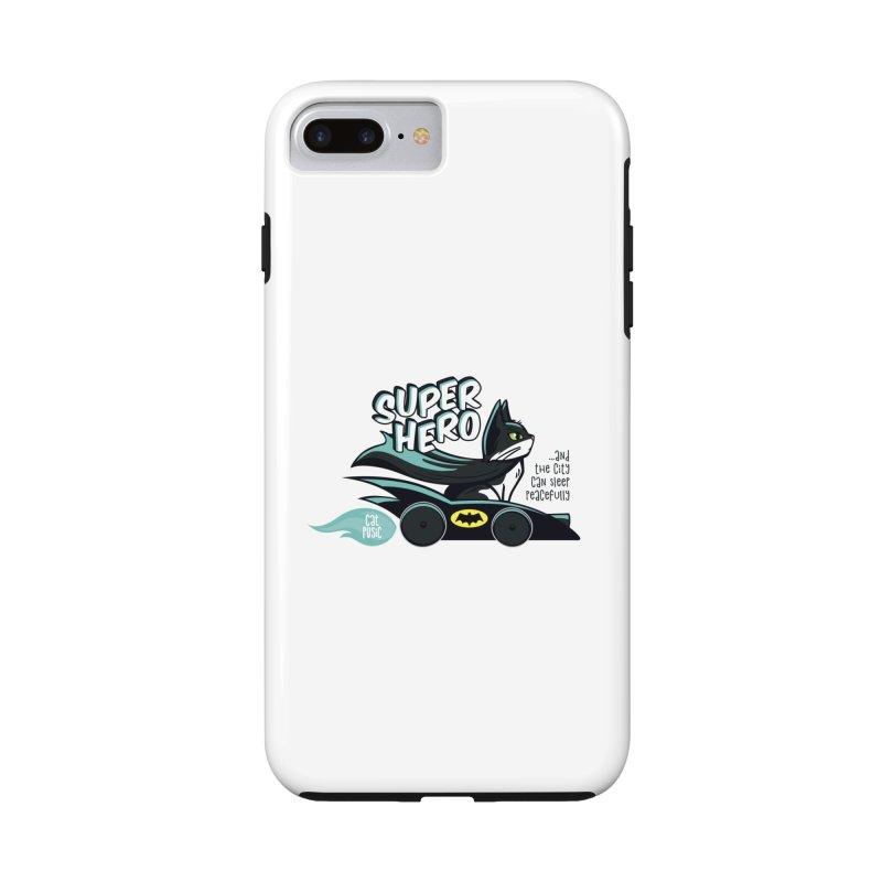 Super Hero Accessories Phone Case by SHOP CatPusic