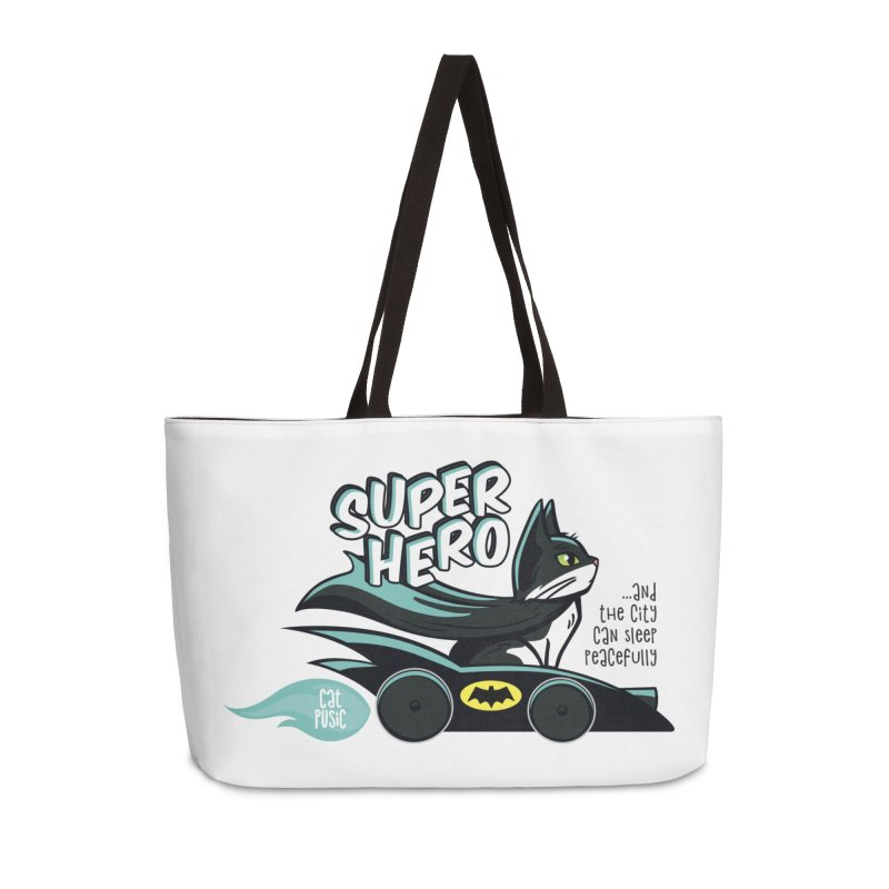 Super Hero Accessories Weekender Bag Bag by SHOP CatPusic
