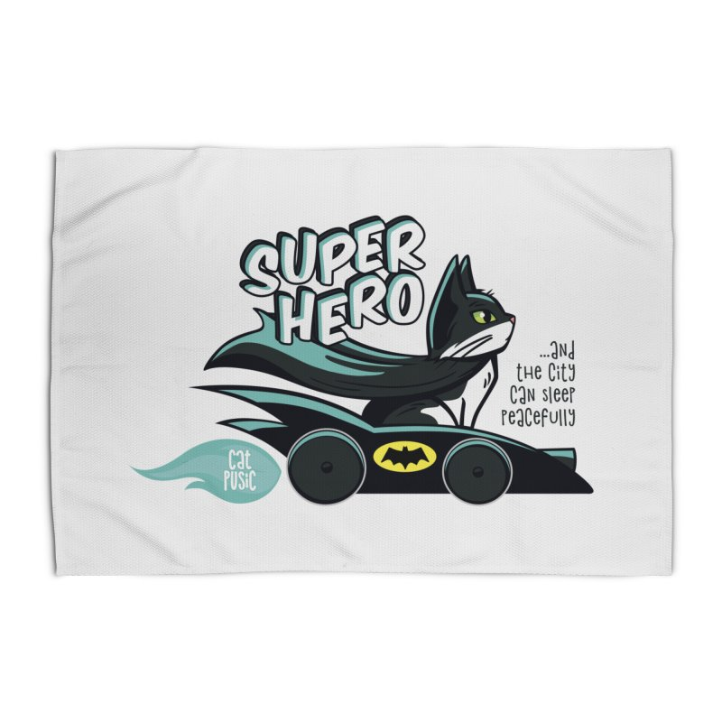 Super Hero Home Rug by SHOP CatPusic