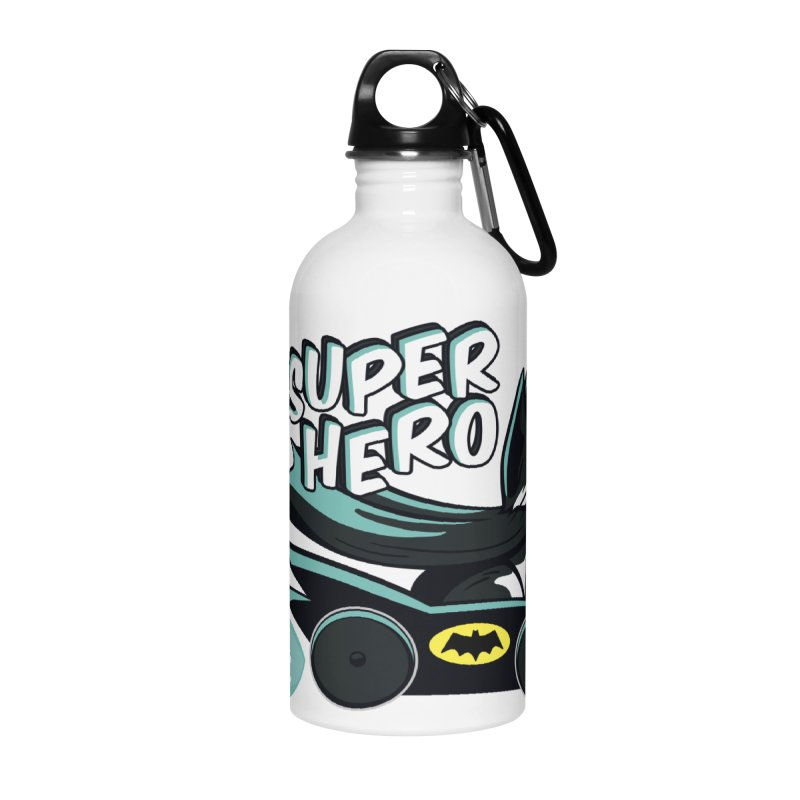 Super Hero Accessories Water Bottle by SHOP CatPusic