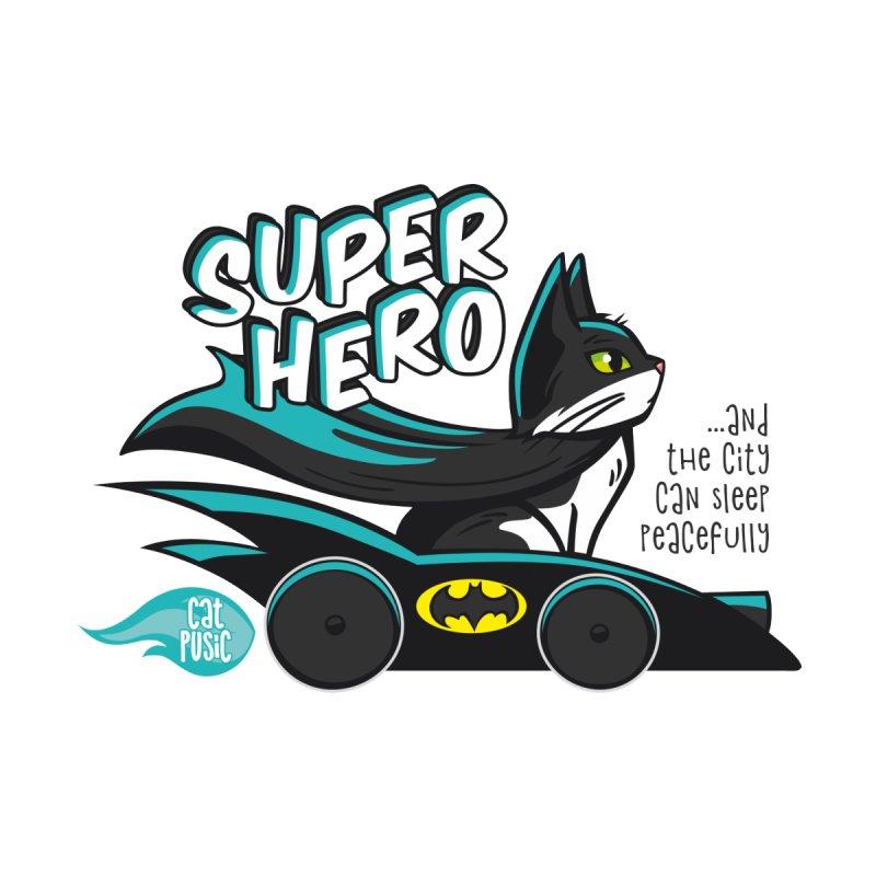 Super Hero None  by SHOP CatPusic