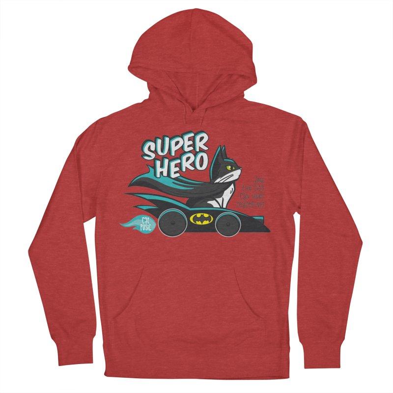 Super Hero Men's Pullover Hoody by SHOP CatPusic