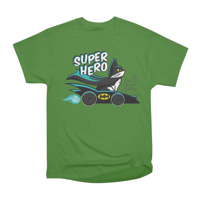 Super Hero Women's Classic Unisex T-Shirt by SHOP CatPusic