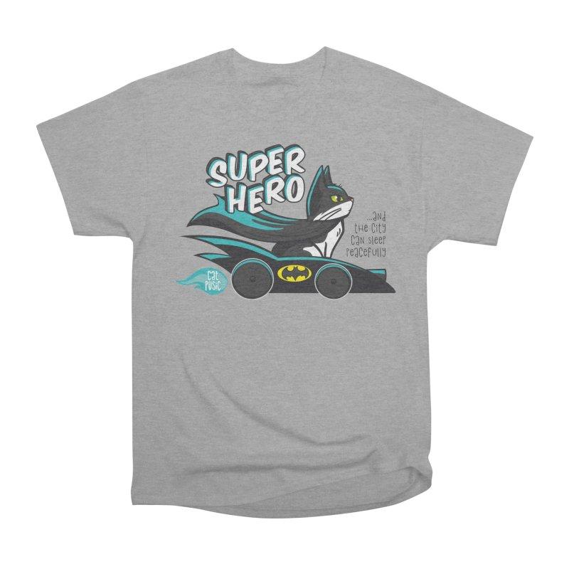 Super Hero Men's Classic T-Shirt by SHOP CatPusic