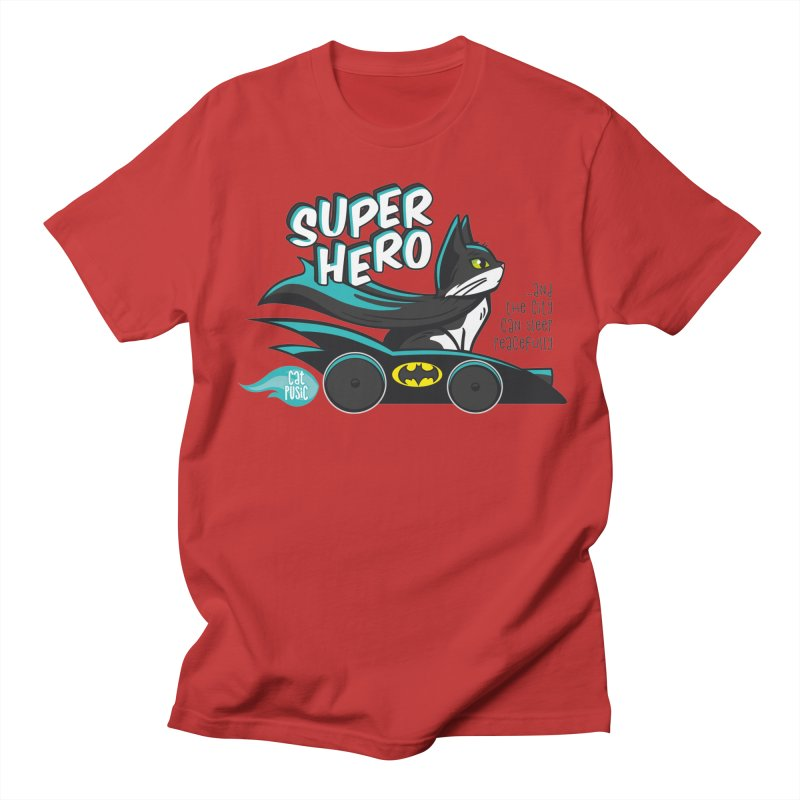 Super Hero Women's Unisex T-Shirt by SHOP CatPusic