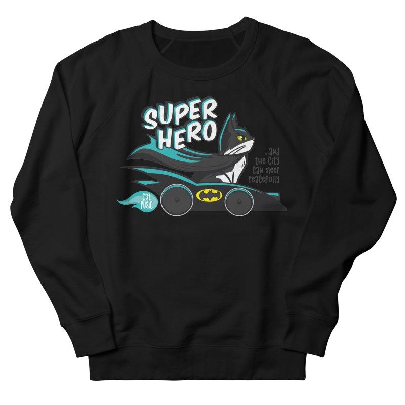 Super Hero Women's Sweatshirt by SHOP CatPusic