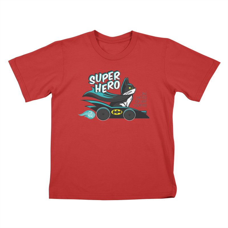 Super Hero Kids T-Shirt by SHOP CatPusic