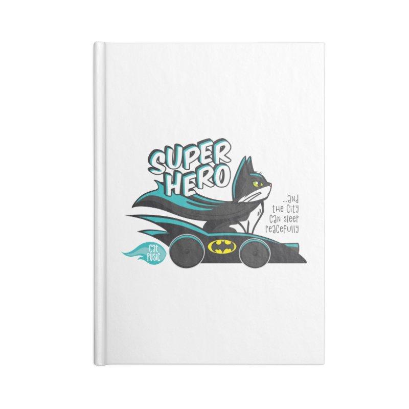Super Hero Accessories Notebook by SHOP CatPusic