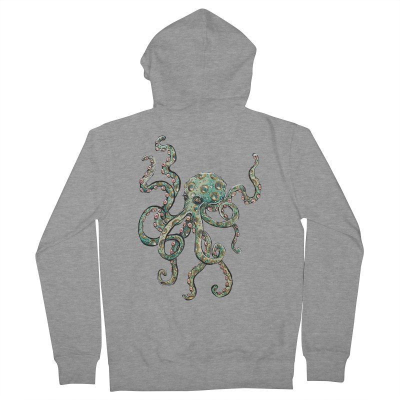 Octopodes Women's Zip-Up Hoody by cavigliascabinet's Artist Shop