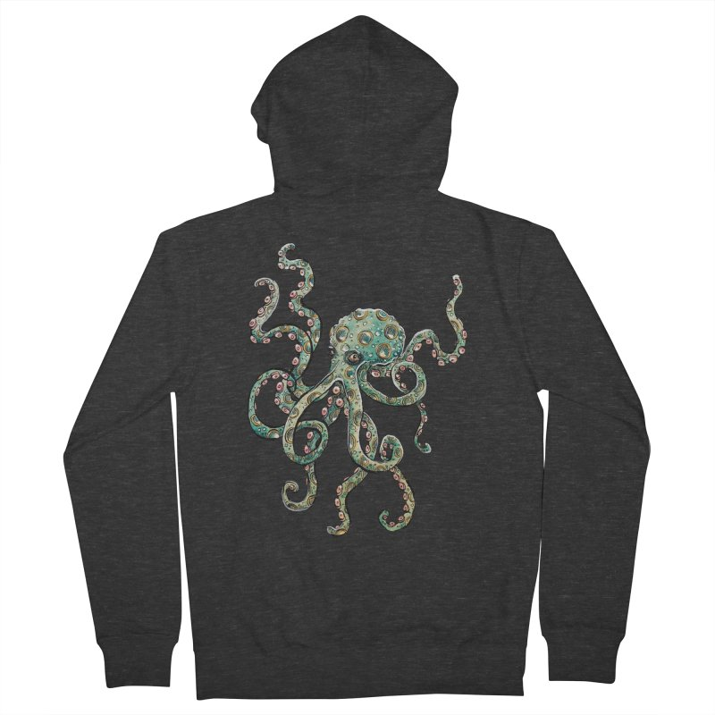 Octopodes Men's Zip-Up Hoody by cavigliascabinet's Artist Shop