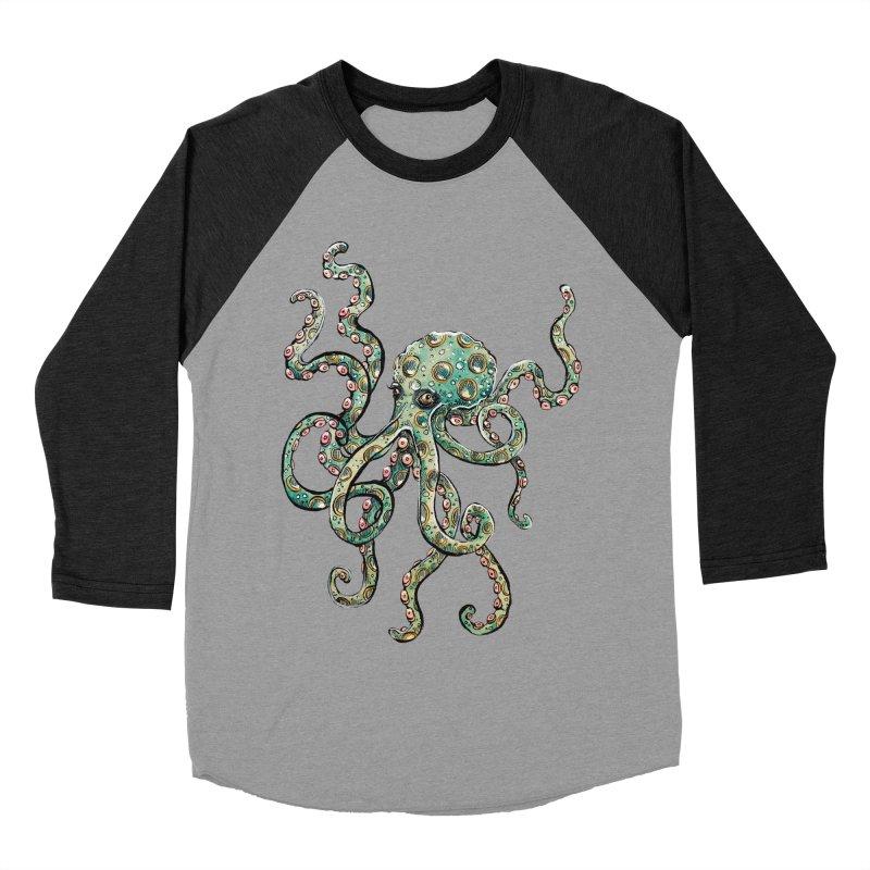 Octopodes Men's Baseball Triblend T-Shirt by cavigliascabinet's Artist Shop