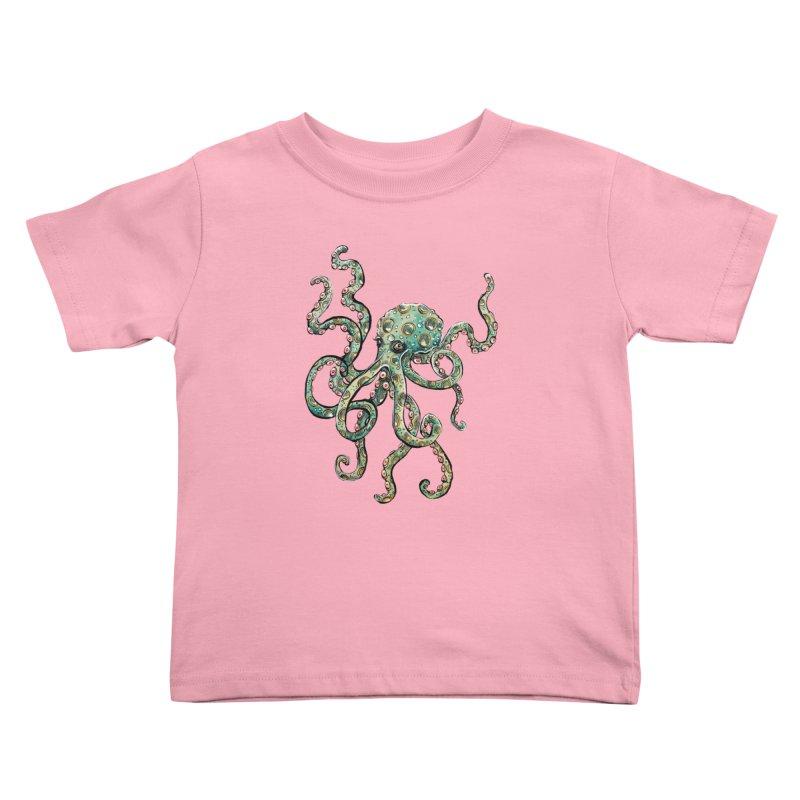 Octopodes Kids Toddler T-Shirt by cavigliascabinet's Artist Shop