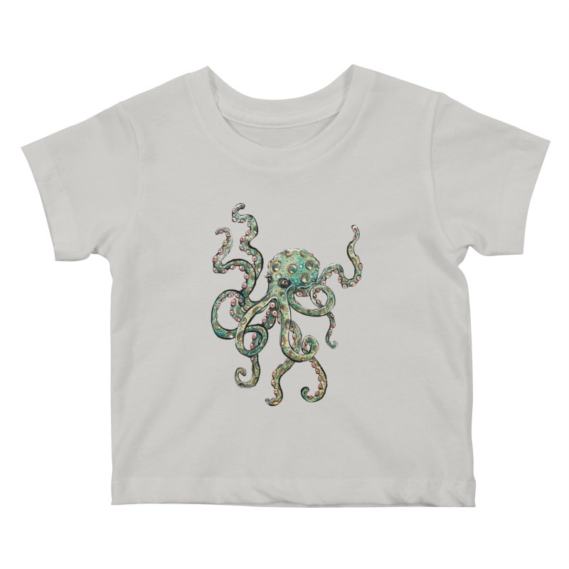 Octopodes Kids Baby T-Shirt by cavigliascabinet's Artist Shop