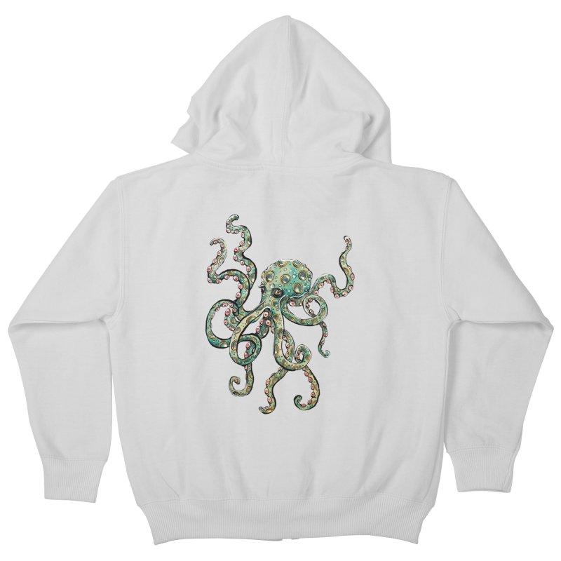 Octopodes Kids Zip-Up Hoody by cavigliascabinet's Artist Shop