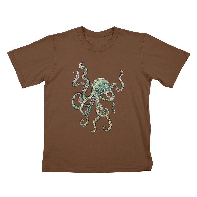 Octopodes Kids T-Shirt by cavigliascabinet's Artist Shop