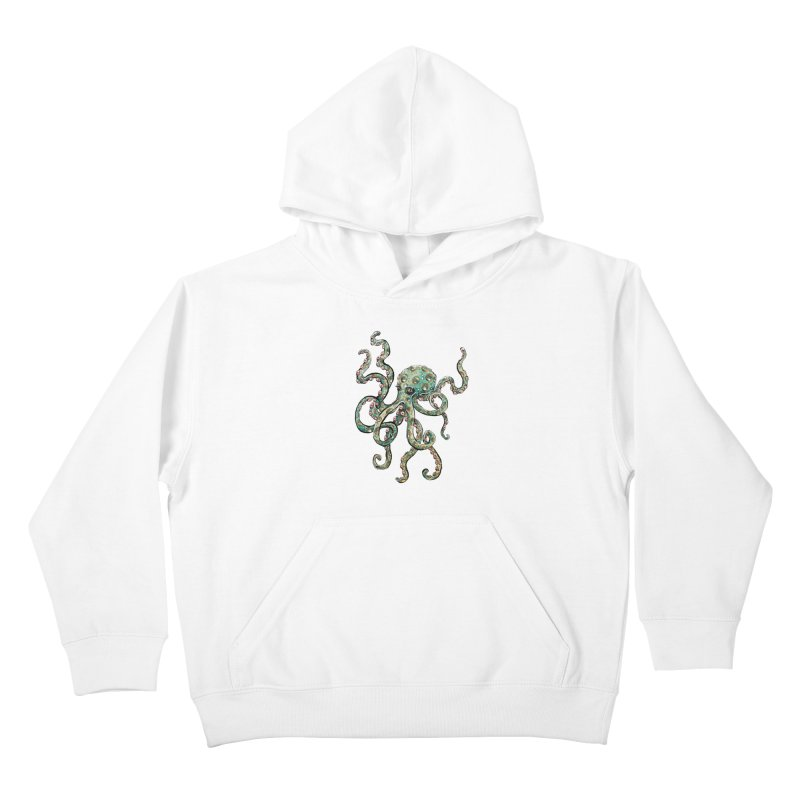 Octopodes Kids Pullover Hoody by cavigliascabinet's Artist Shop