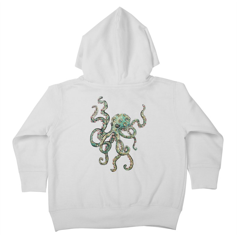 Octopodes Kids Toddler Zip-Up Hoody by cavigliascabinet's Artist Shop
