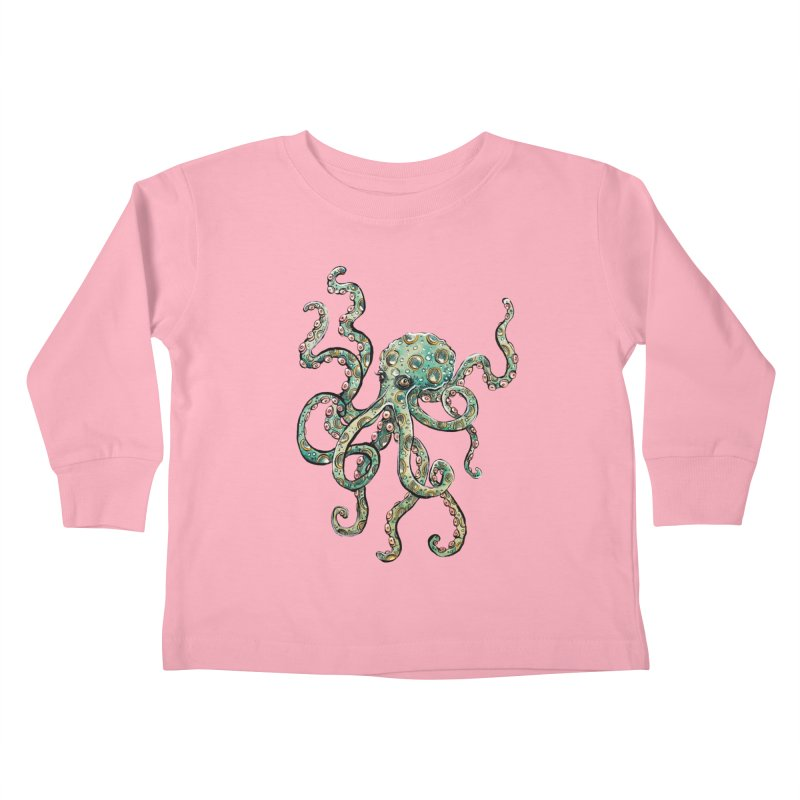 Octopodes Kids Toddler Longsleeve T-Shirt by cavigliascabinet's Artist Shop