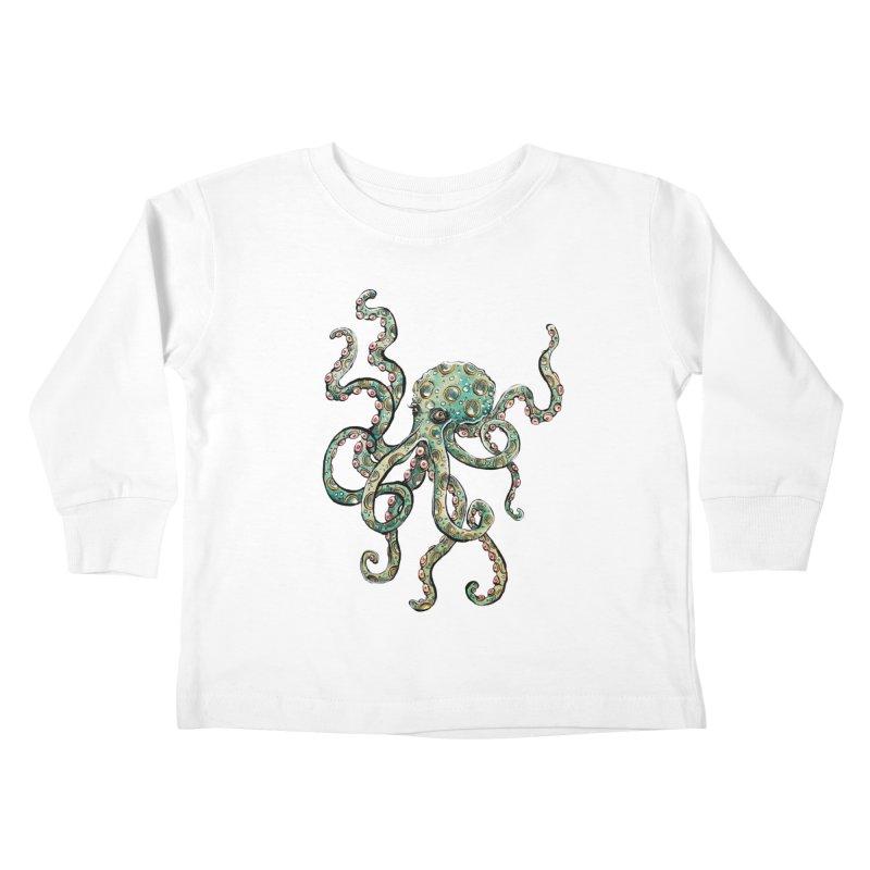 Octopodes Kids Toddler Longsleeve T-Shirt by cavigliascabinet's Artist Shop