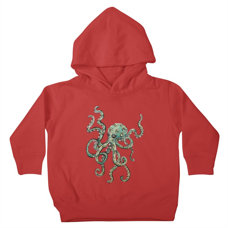 Octopodes Kids Toddler Pullover Hoody by cavigliascabinet's Artist Shop
