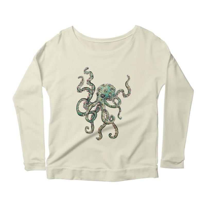 Octopodes Women's Longsleeve Scoopneck  by cavigliascabinet's Artist Shop
