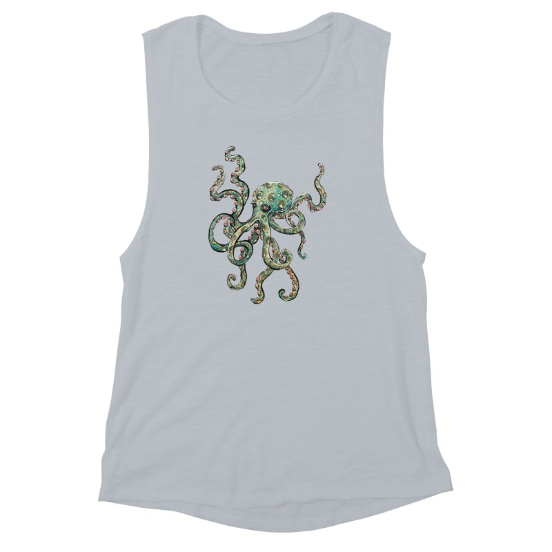 Octopodes Women's Muscle Tank by cavigliascabinet's Artist Shop