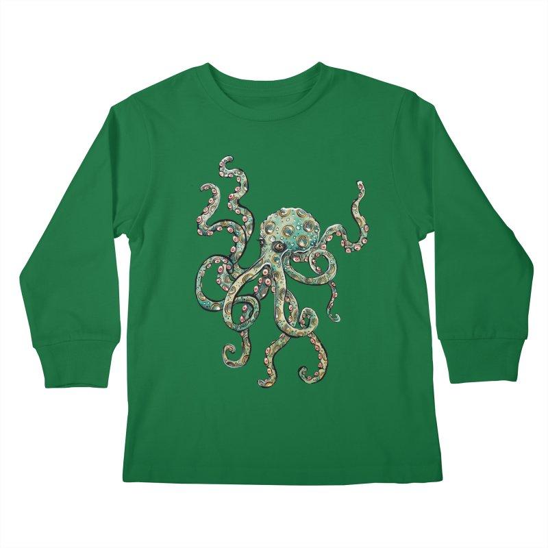 Octopodes Kids Longsleeve T-Shirt by cavigliascabinet's Artist Shop